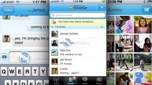 messenger en iphone