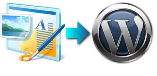 windows live spaces a wordpress