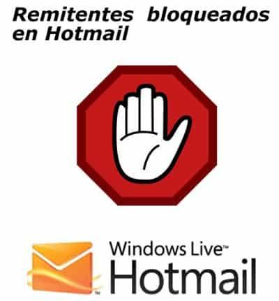 Hotmail: Como bloquear un remitente