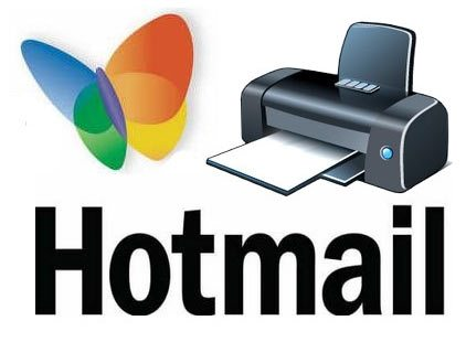 Imprimir Hotmail