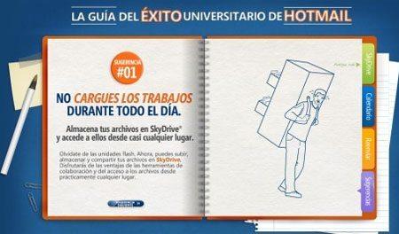 Guia del exito universitario de Hotmail