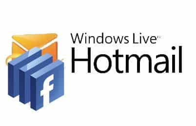 Hotmail y Facebook