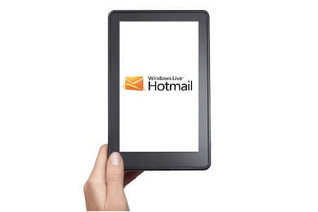 hotmail en kindle fire