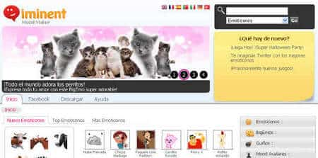 Iminent emoticones gratis para messenger