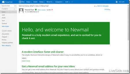 Correo Hotmail cambiará su nombre a Newmail