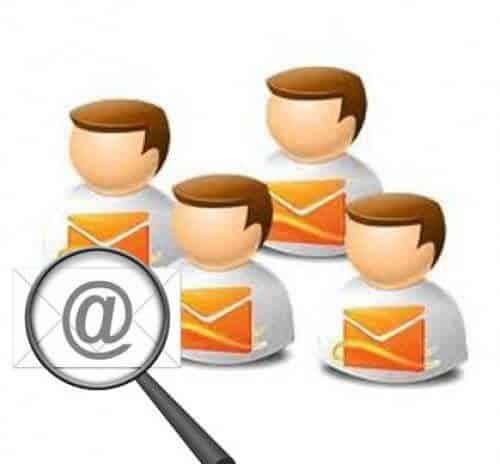Búsqueda de usuarios a través de Correo Hotmail