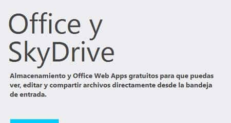 office y skydrive