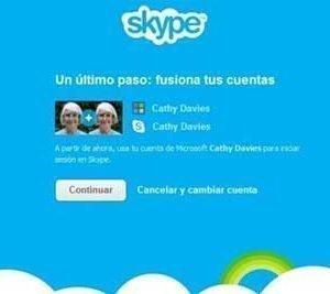 skype messenger correo outlook