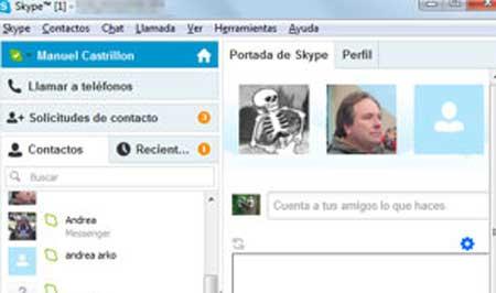skype y messenger